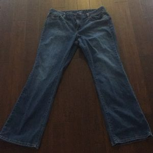 Worn Once! LOFT Curvy Boot Jeans - Size 14